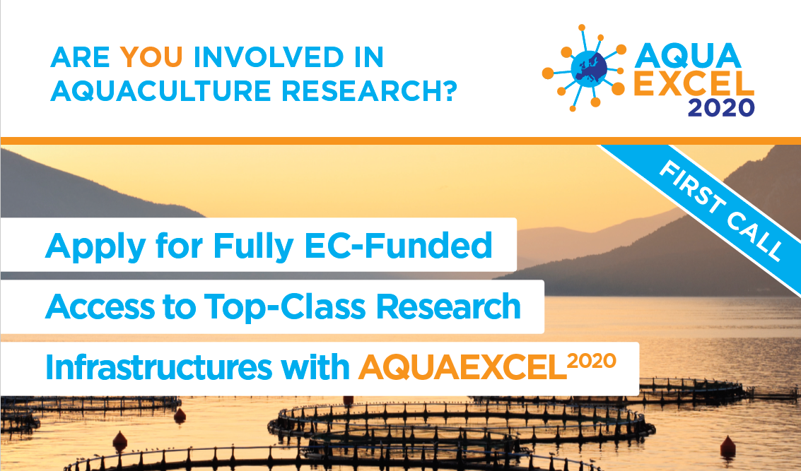 AQUAEXCEL2020 1st call for access