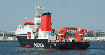 COLUMBUS research vessel