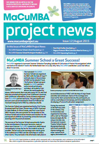 Macumba newsletter