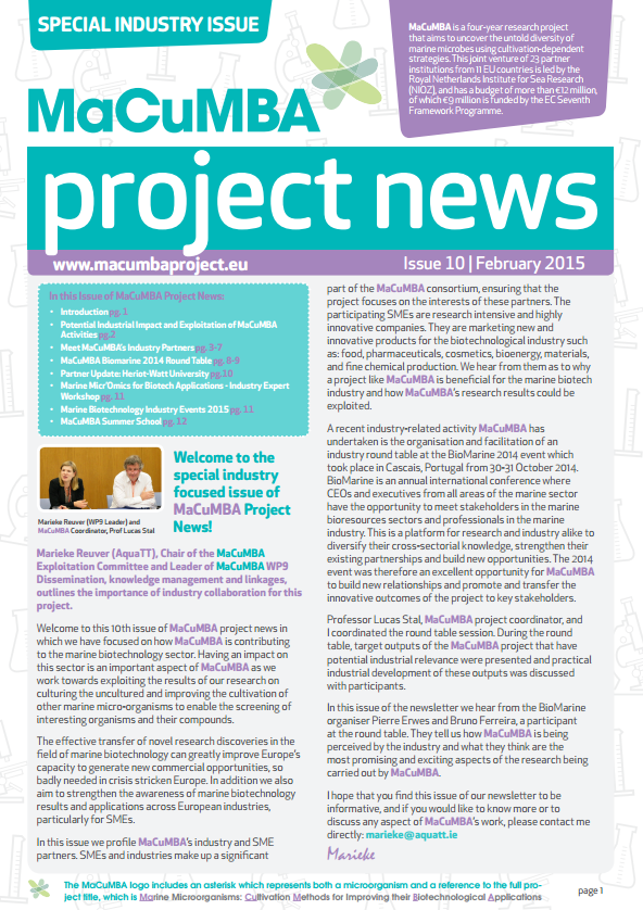 MaCuMBA newsletter screengrab feb 2015