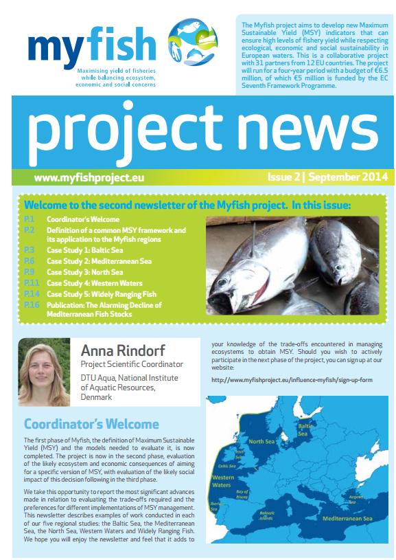 Myfish newletter 2nd issue