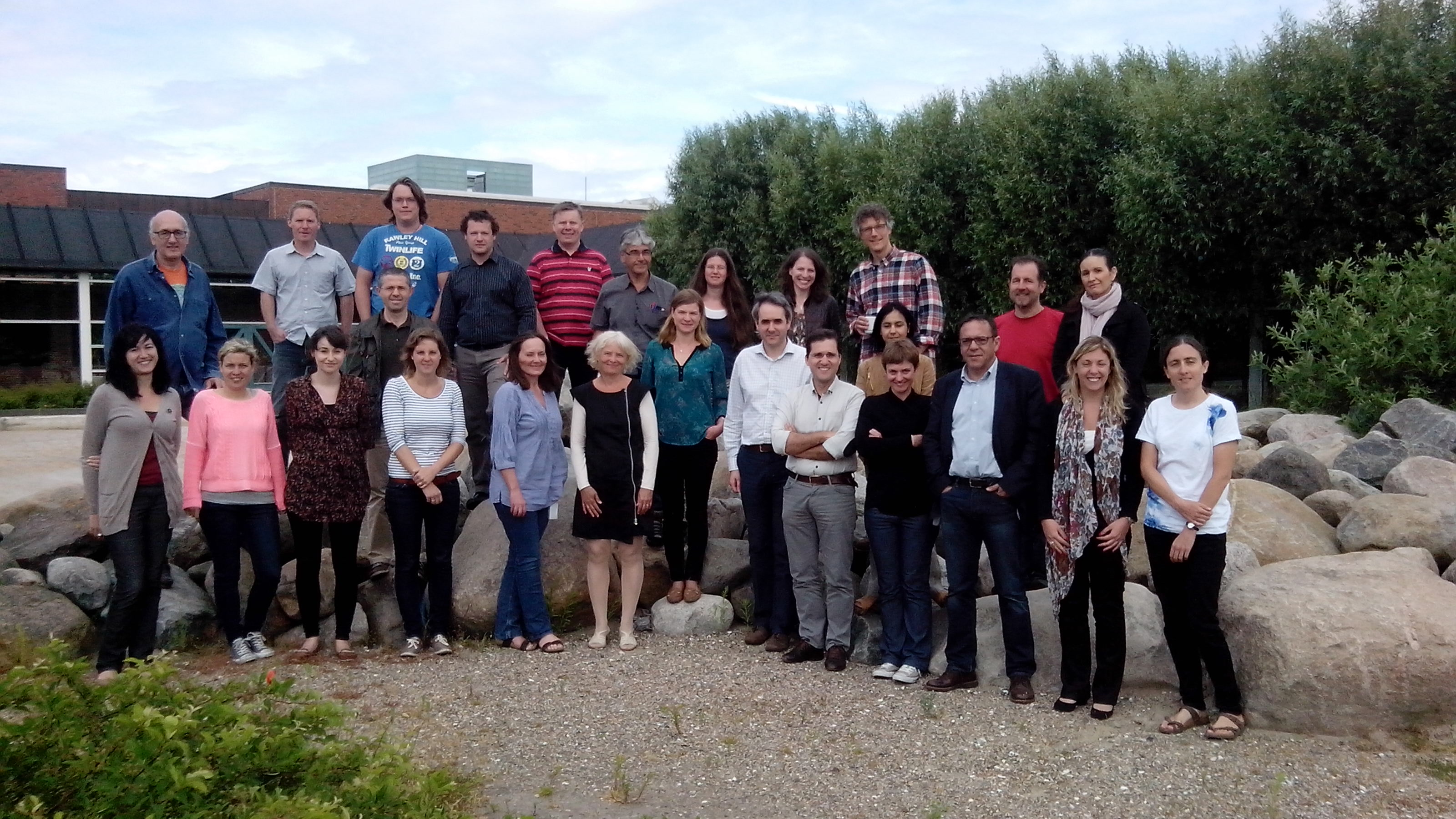 ECsafeSEAFOOD consortium members at a recent meeting in Hirtshals Denmark