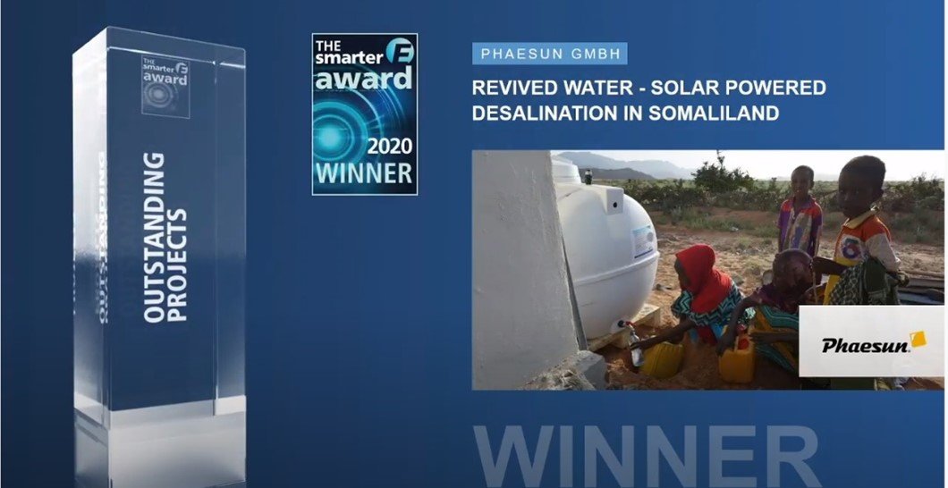 REvivED water Phaesun win