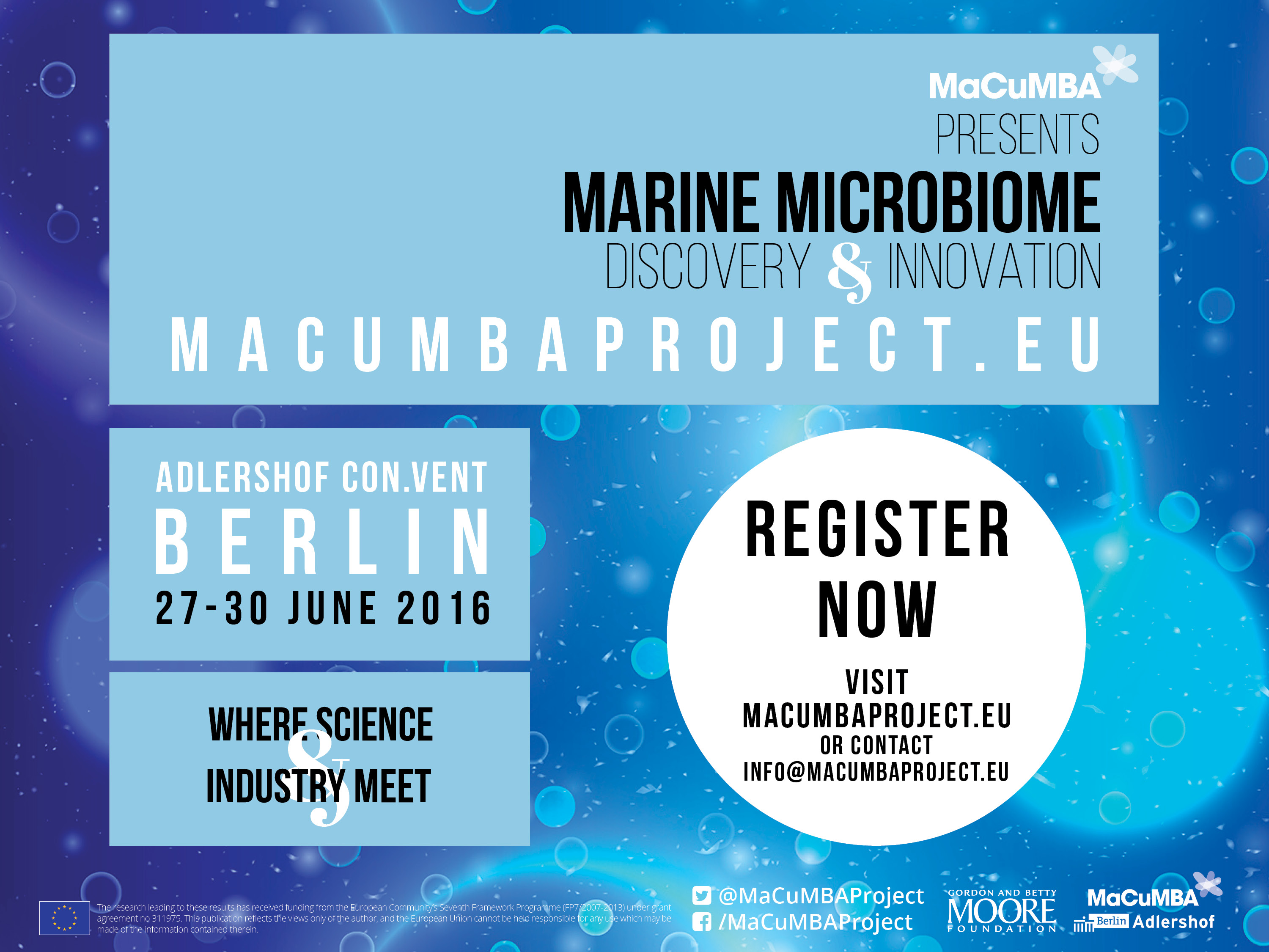 Marine Microbiome Conference