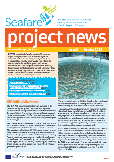 SEAFARE Newsletter Oct 2013