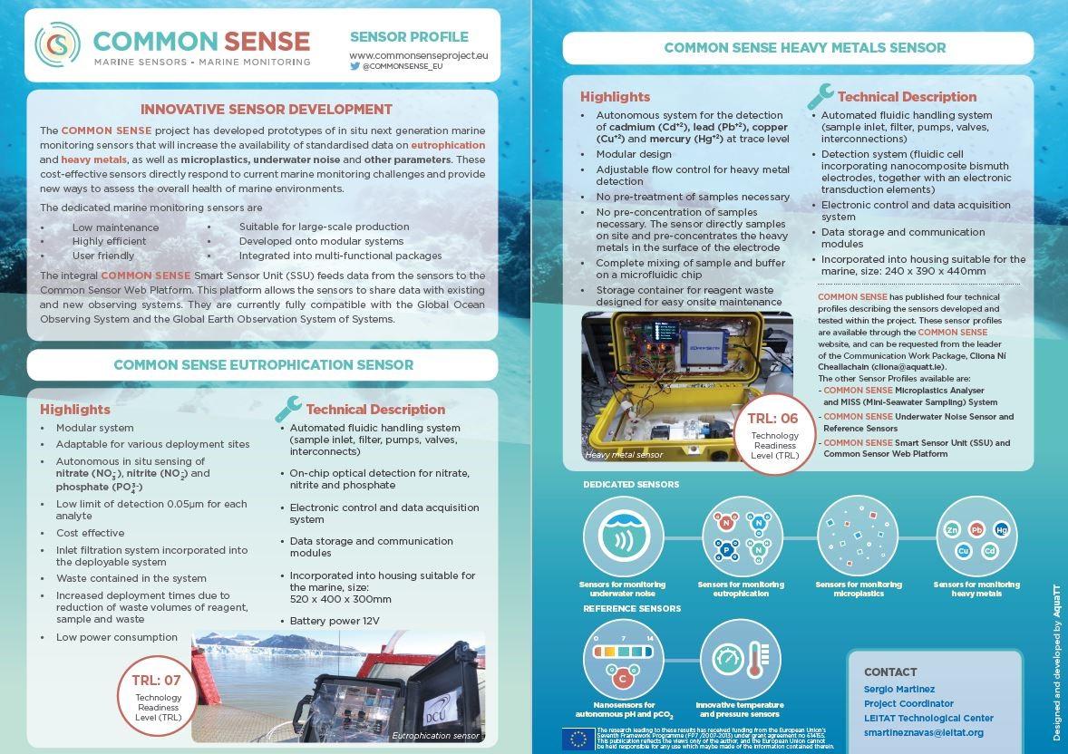 sensor profiles