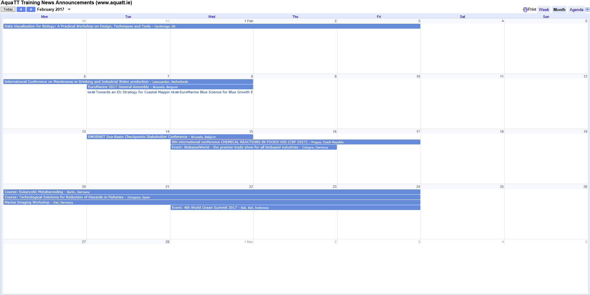 February screengrab